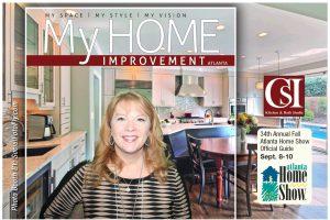 My Home Improvement Magazine photo booth at Atlanta Home Show Lori Tilt Koepka
